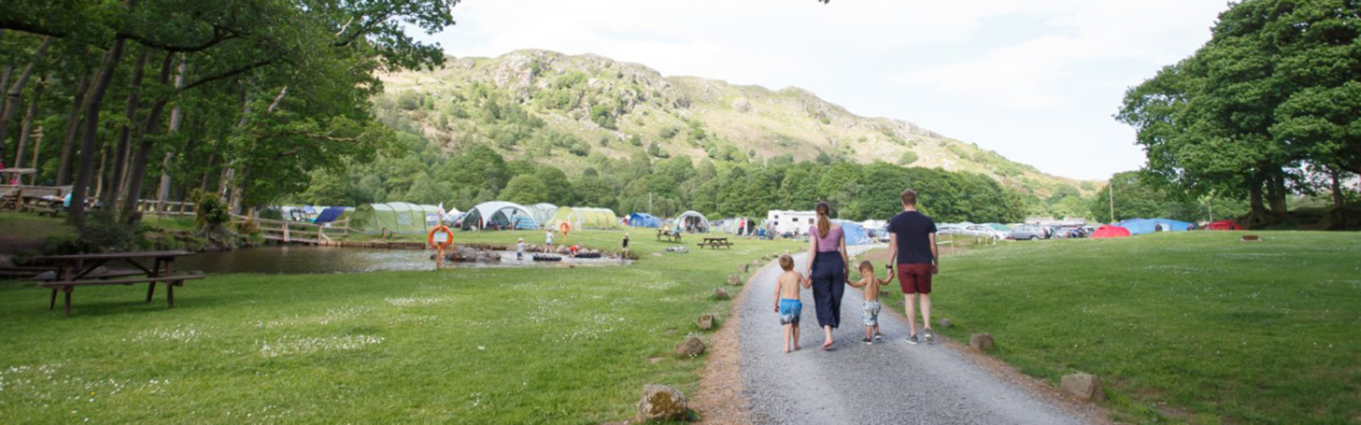 camping site lake district